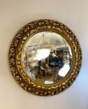 convex gilt mirror