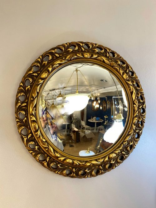 convex gilt mirror