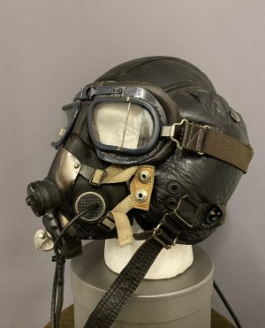WWII Style Leather Helmet