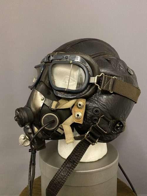 WWII Style Leather Helmet