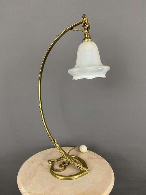 art nouveau table lamp