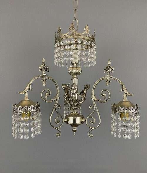cherub chandelier