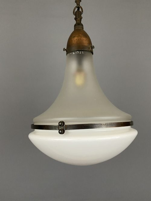 Peter Behrens Bauhaus Pendant Light