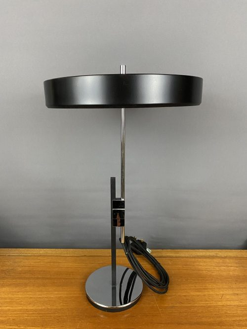 mid century chrome table lamp