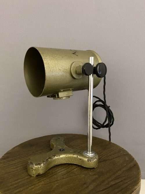 old school lamp