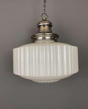 GEC opaline pendant light