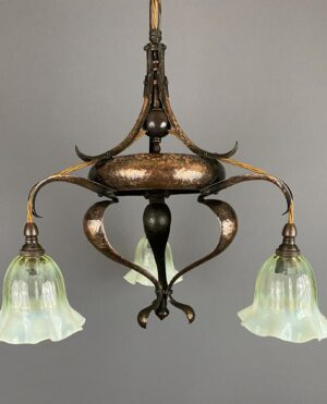 Arts and Crafts Chandelier